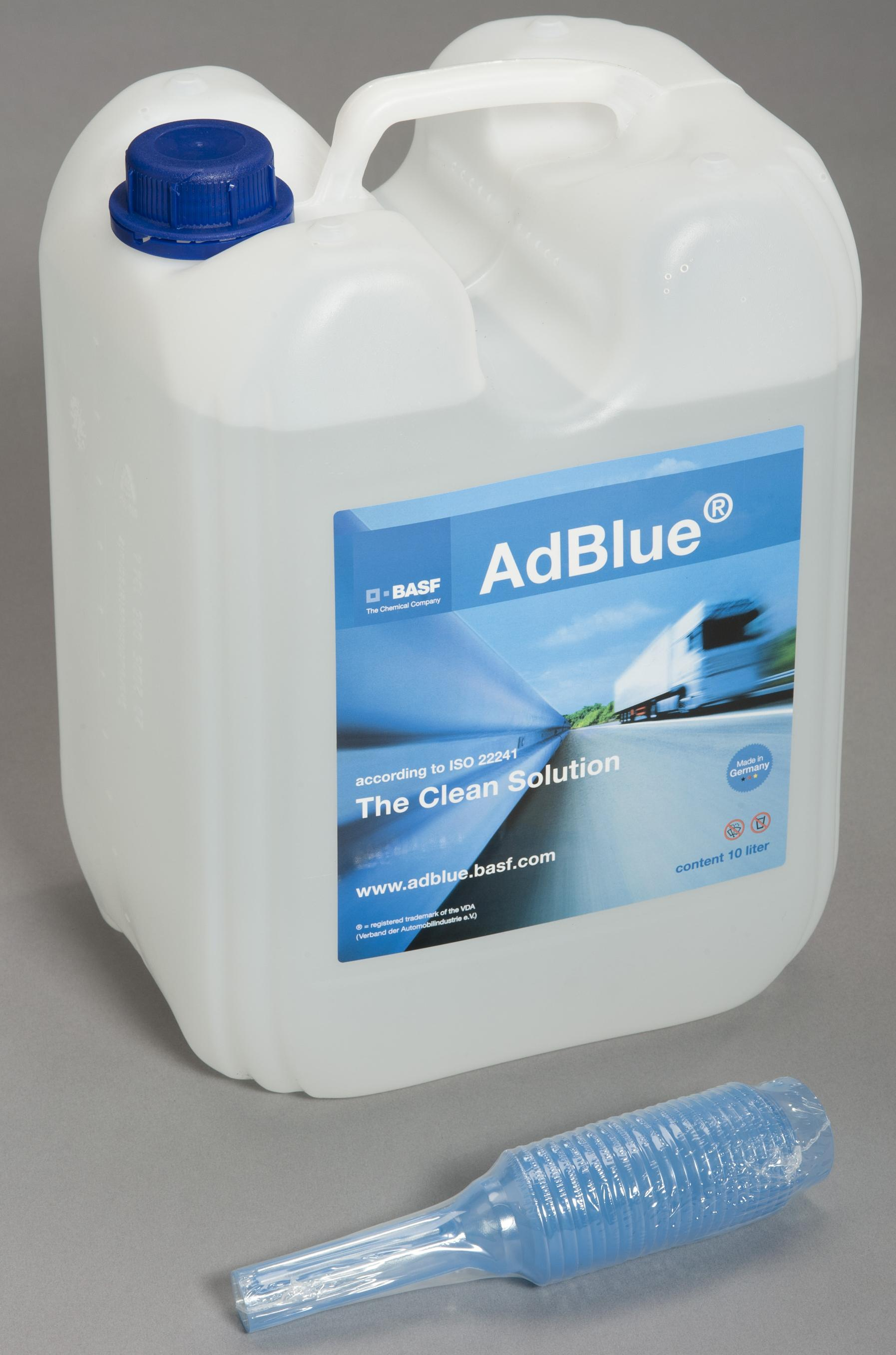 AdBlue tank from 10 lt