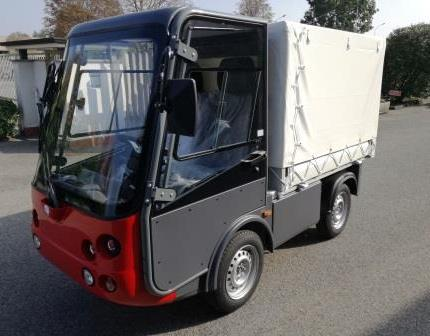 Electric pickup (commercial vehicles)