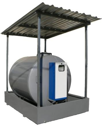 Protection roof tank