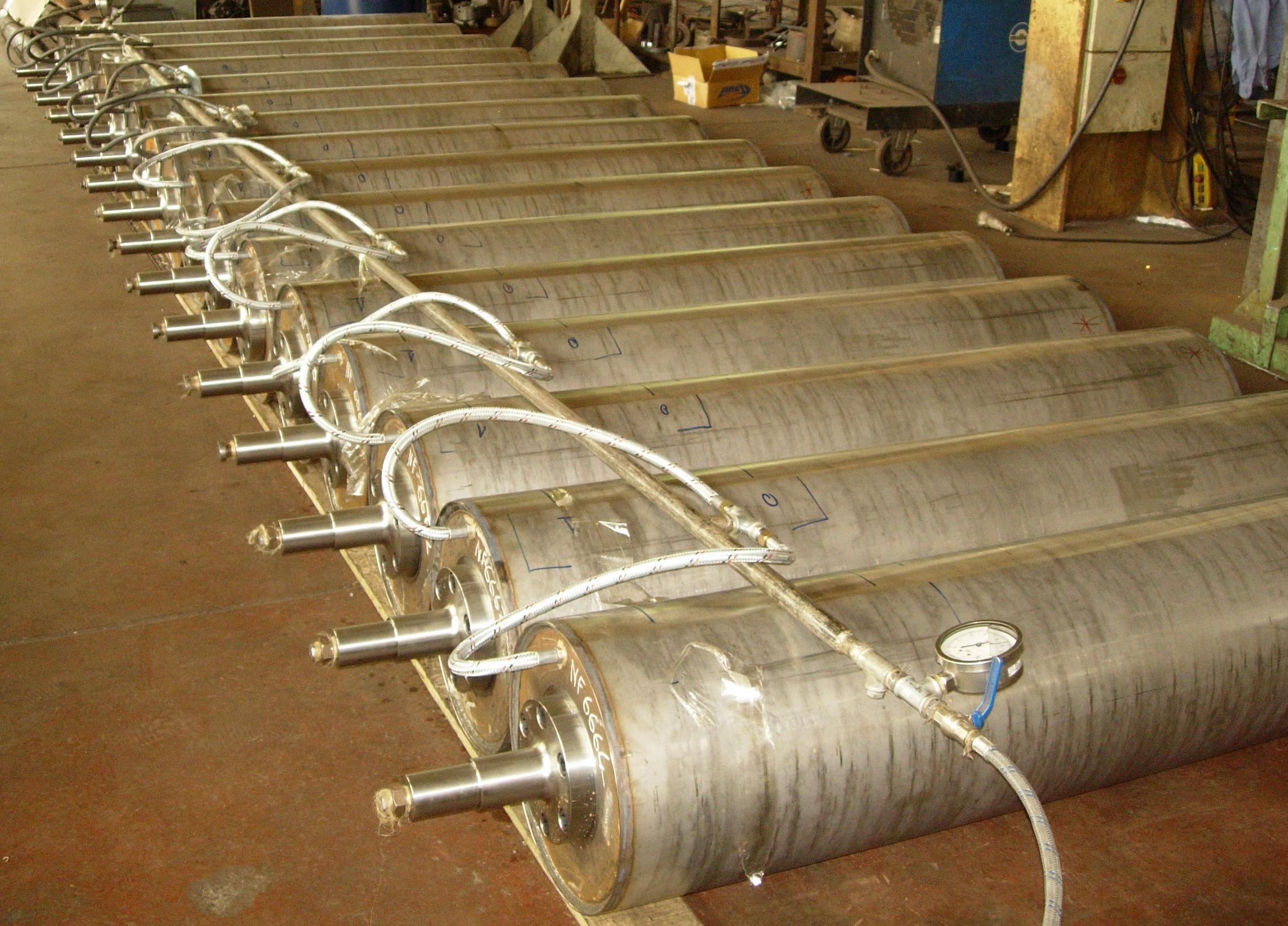 DRYING AND DRYING CYLINDERS-HOT ROLLS-DRYING CYLINDERS