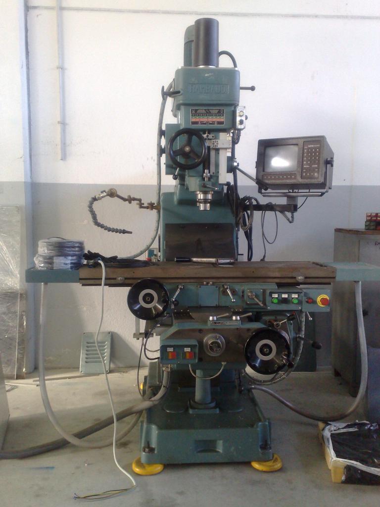 Change image lathe and milling machine Rambaudi